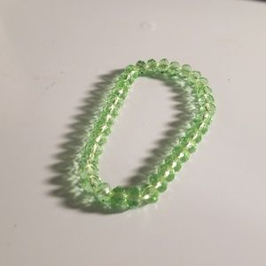 Jewelry - Lime green stone bracelet